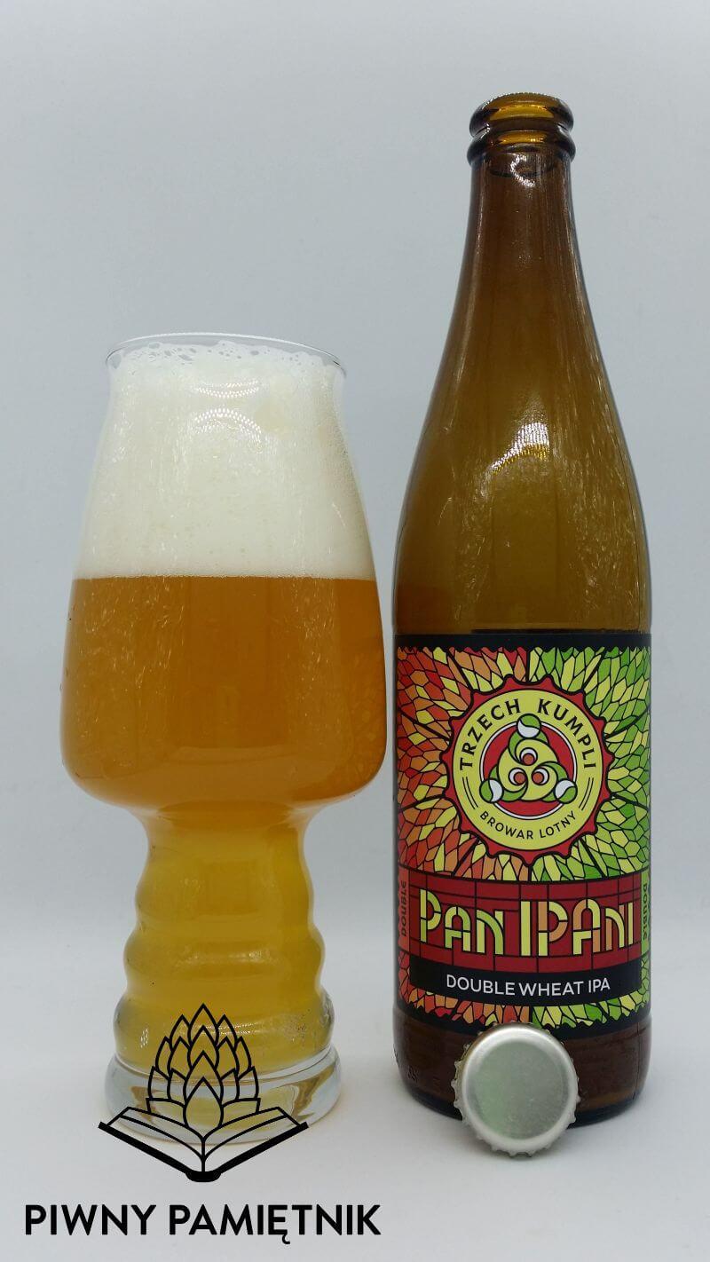 Double Pan IPAni z Browaru Trzech Kumpli