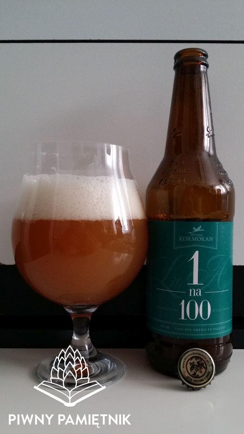 1 na 100 z Browaru Kormoran