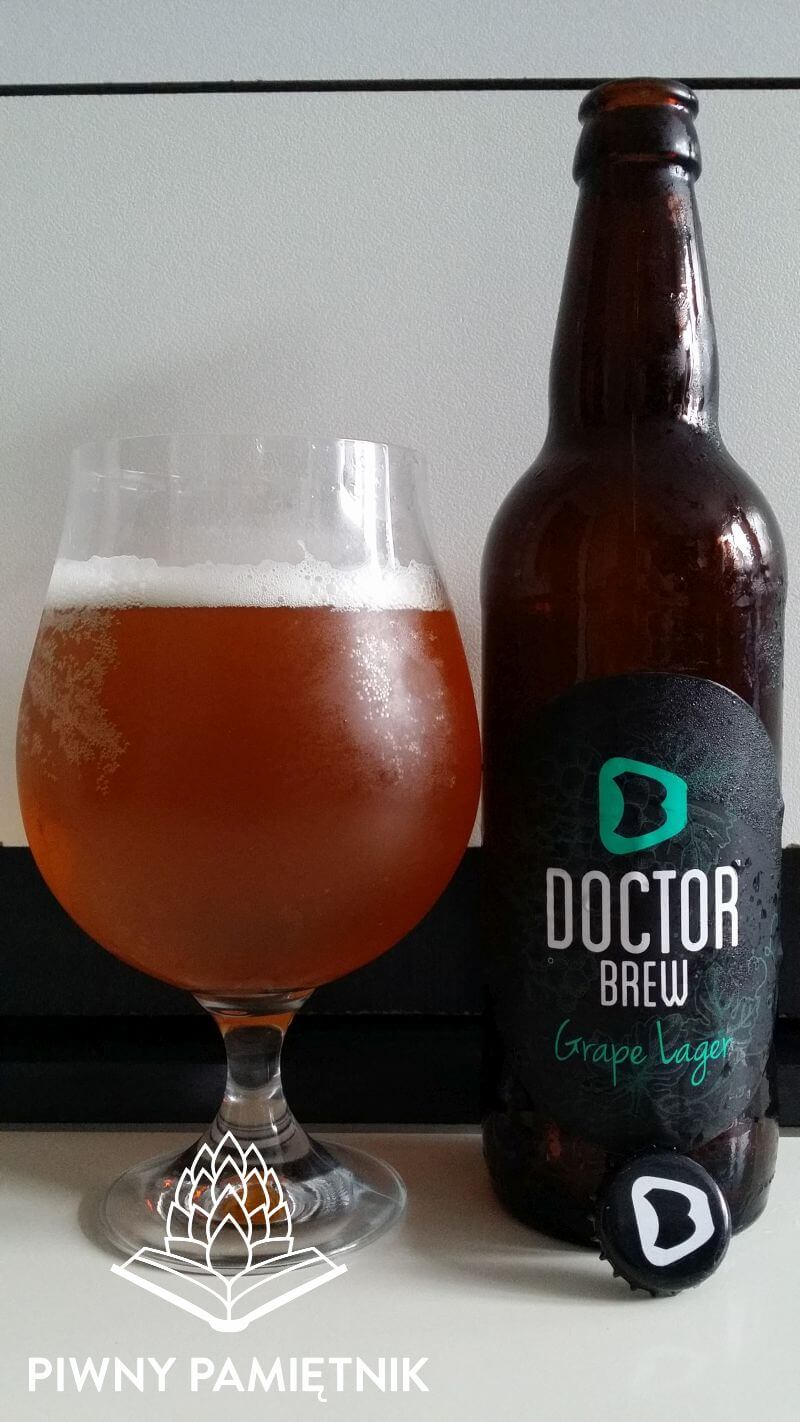 Grape Lager z Browaru Doctor Brew