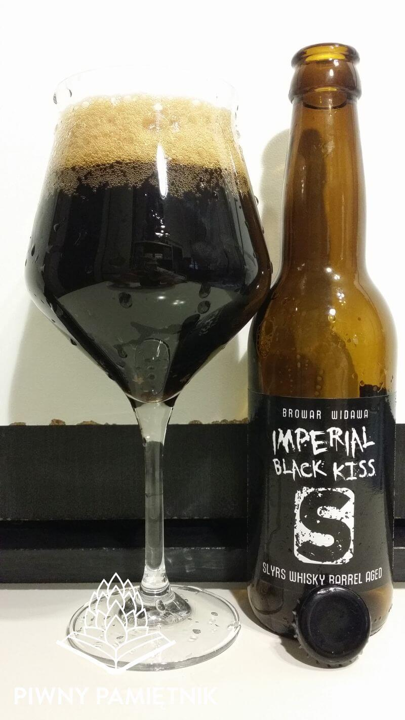 Imperial Black Kiss Slyrs Whisky Barrel Aged z Browaru Widawa