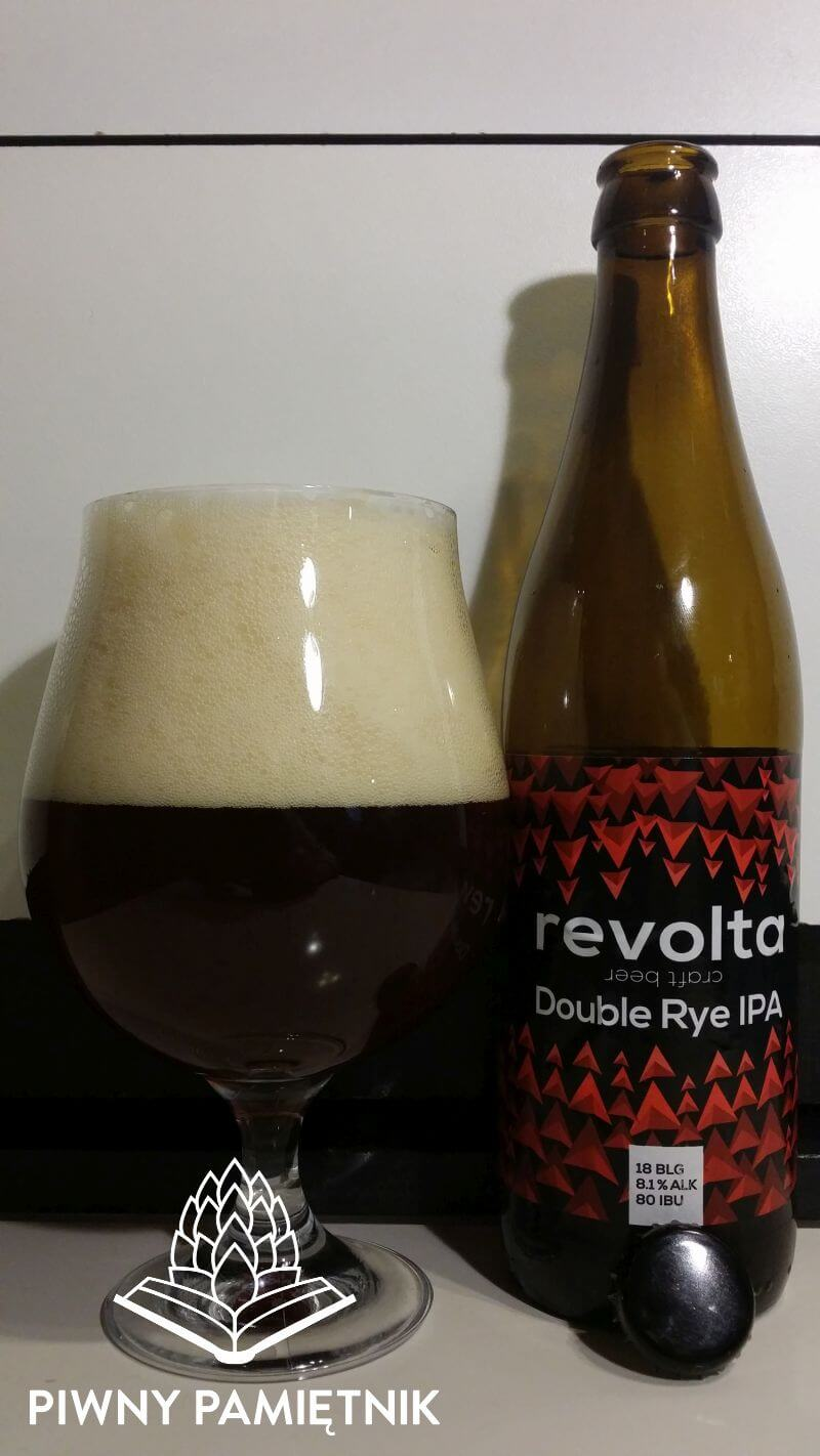 Double Rye IPA z Browaru Revolta