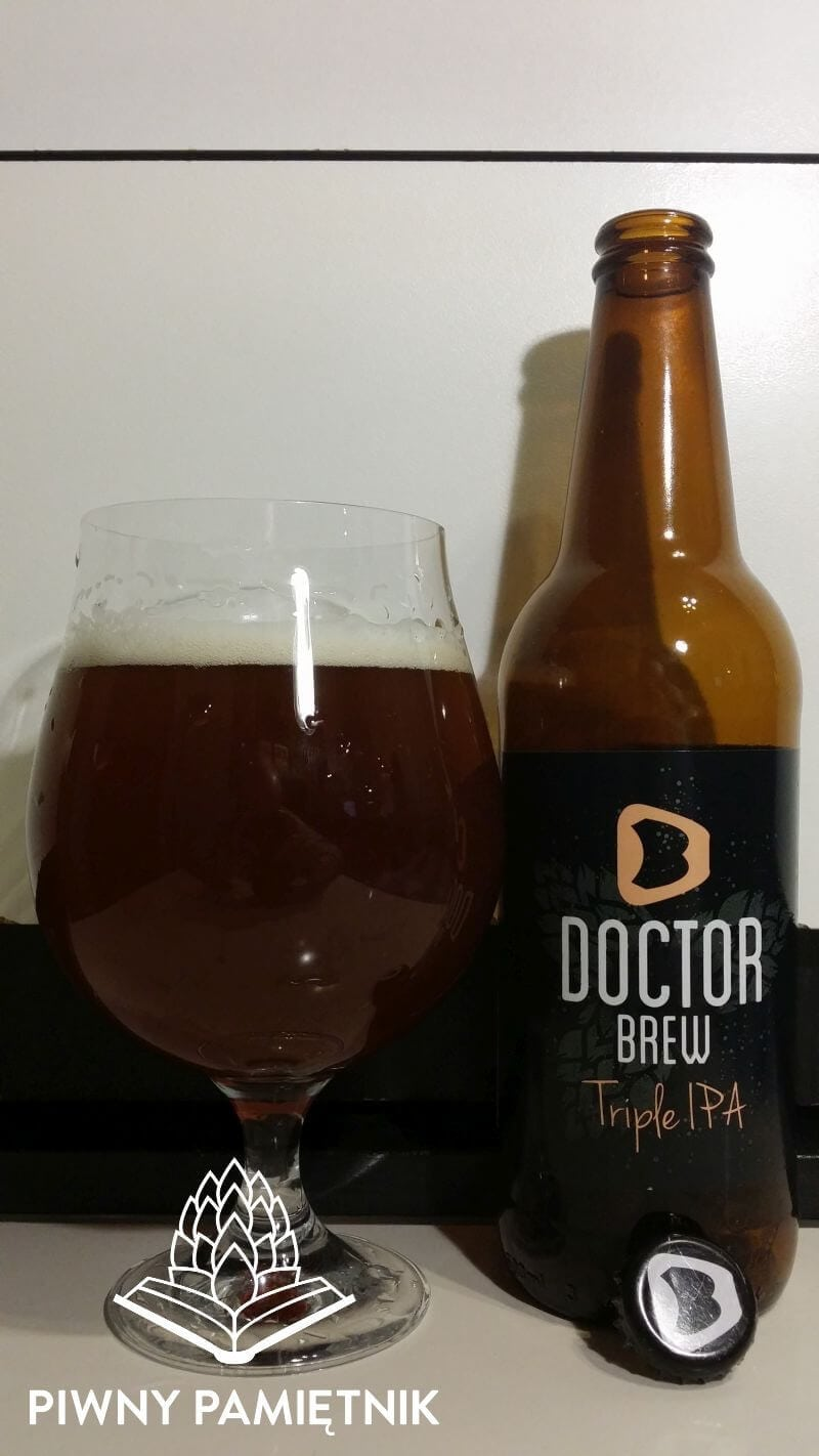 Triple IPA z Browaru Doctor Brew