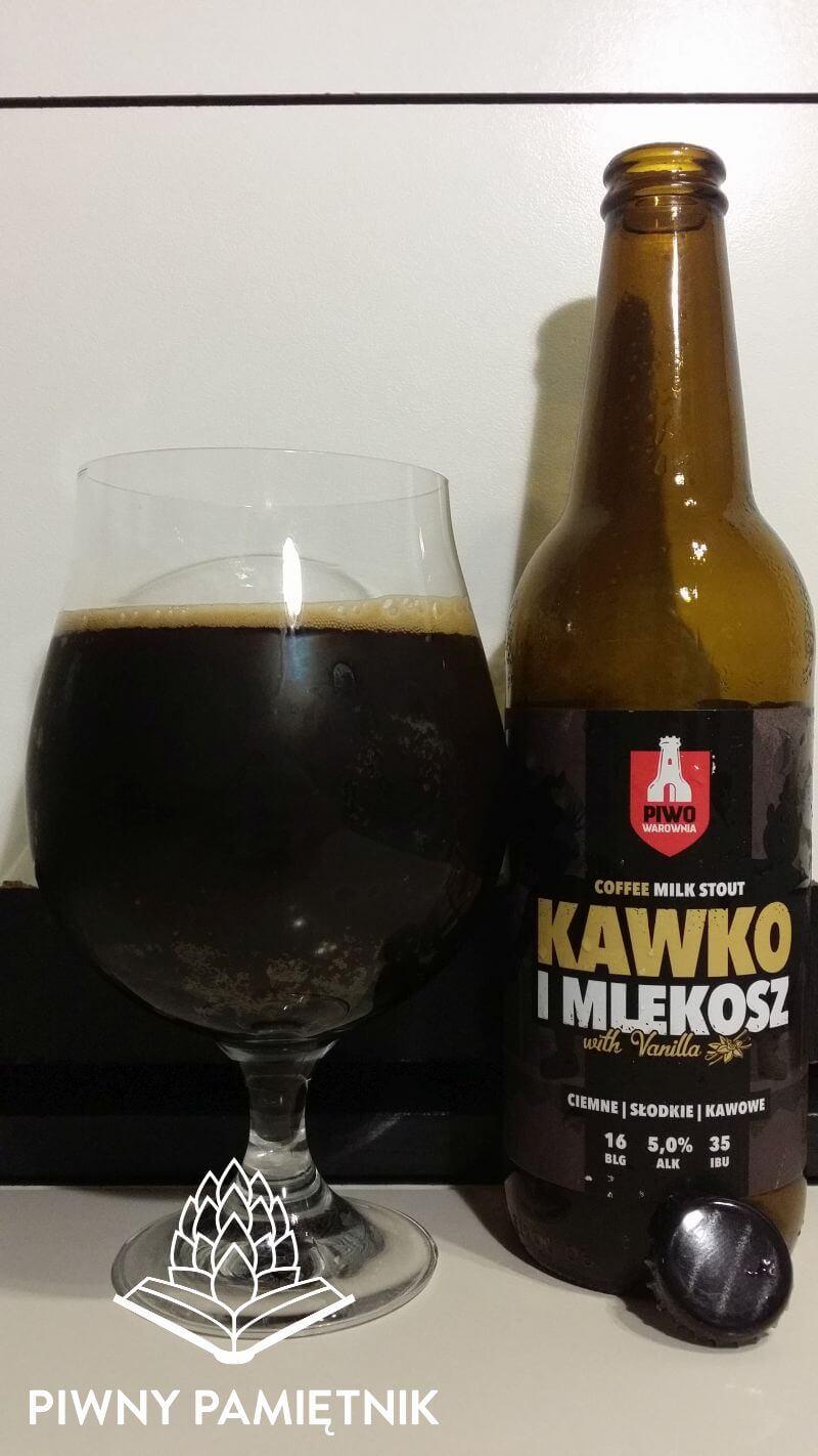 Kawko i Mlekosz z Browaru PiwoWarownia
