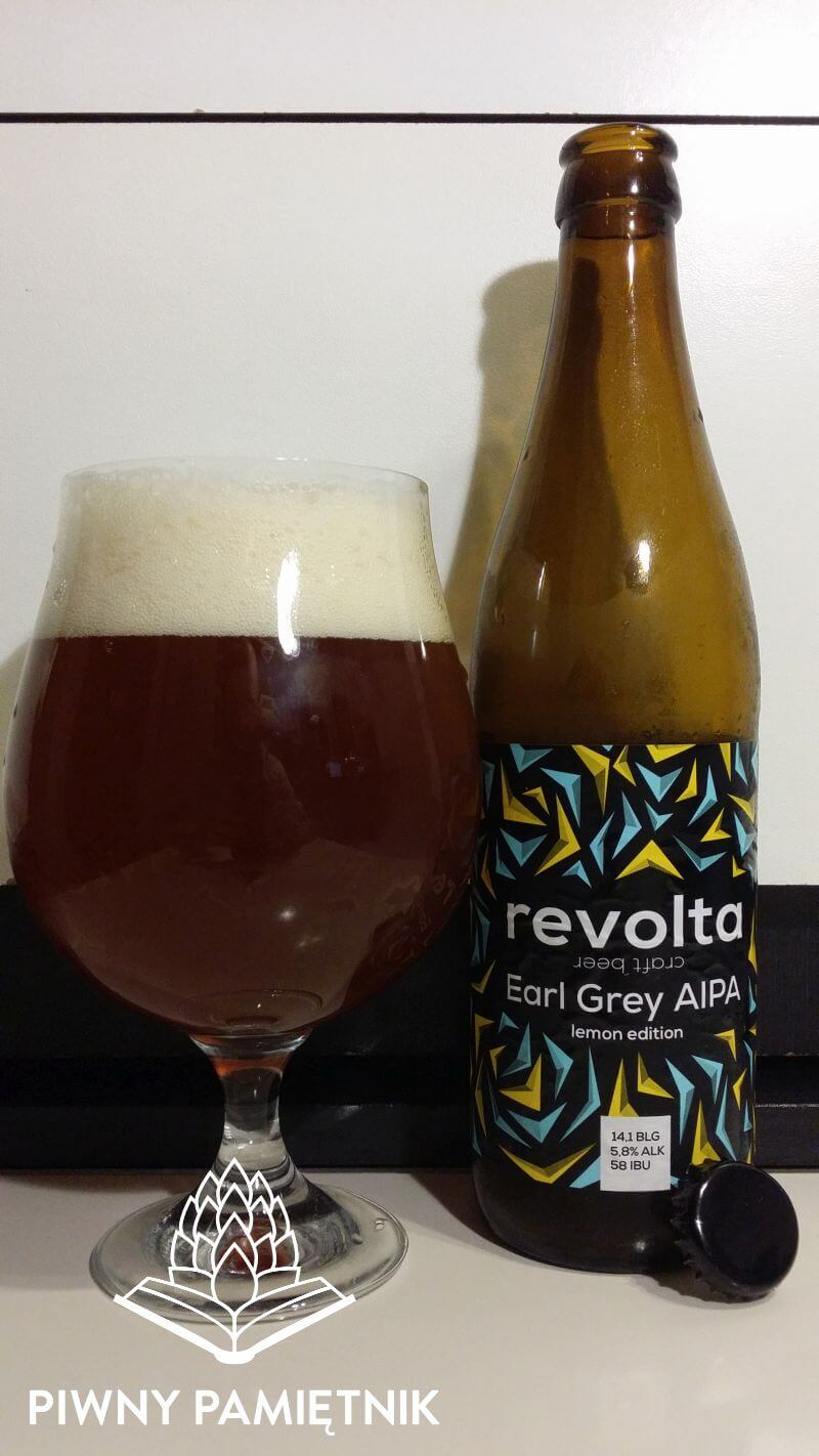Earl Grey AIPA Lemon Edition z Browaru Revolta