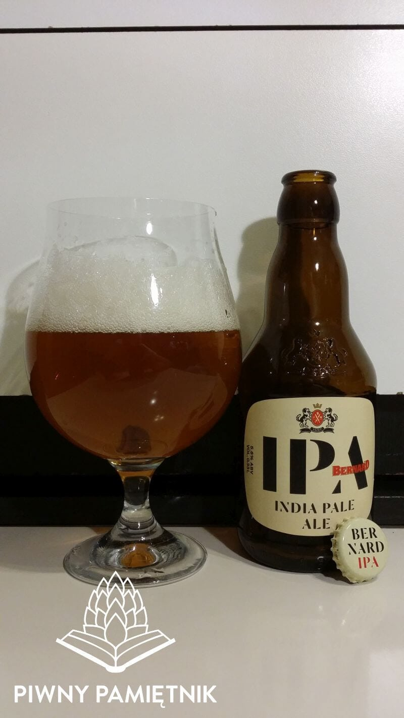 India Pale Ale z Browaru Bernard (Humpolec – Czechy)
