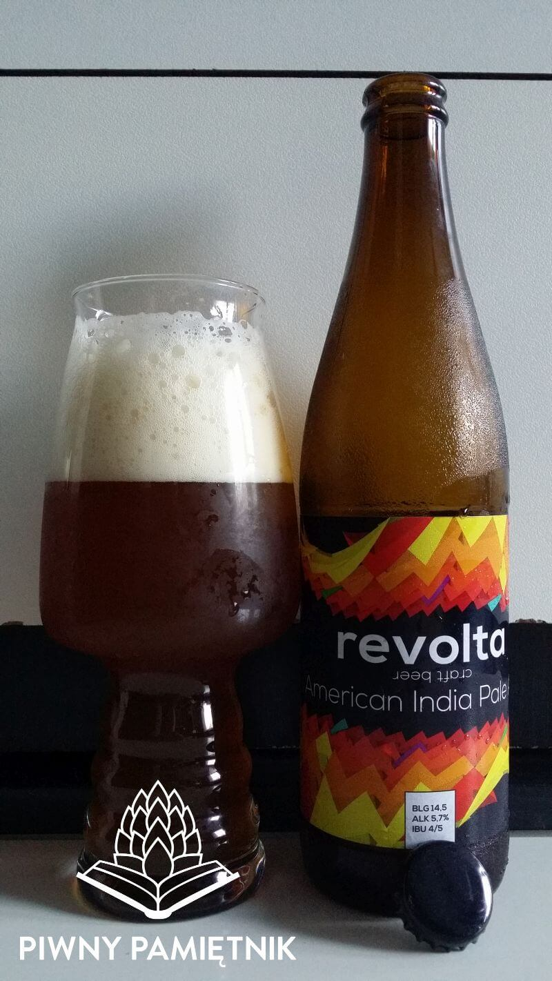 American India Pale Ale z Browaru Revolta