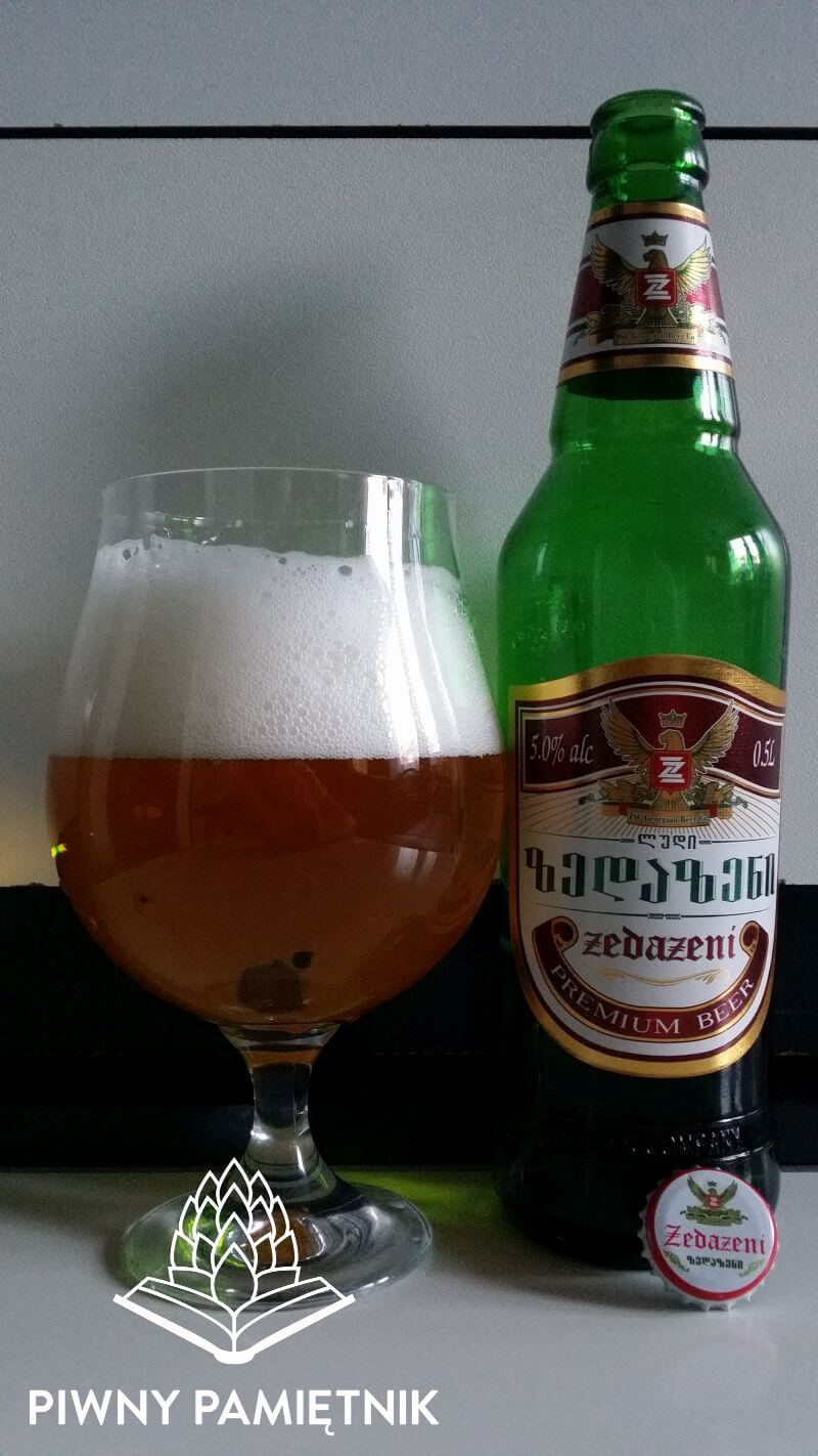 Premium Beer z Browaru Zedazeni (Gruzja)