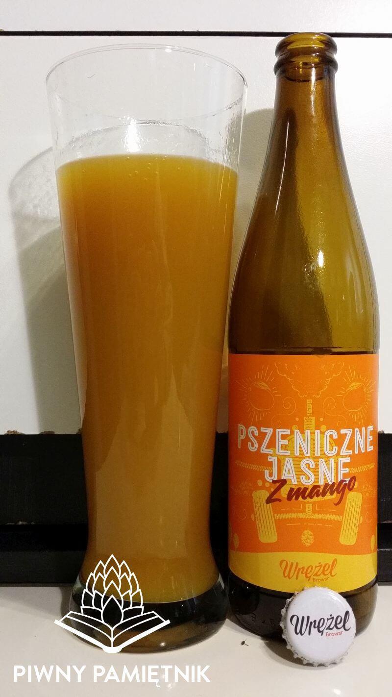 Pszeniczne Jasne z Mango z Browaru Wrężel