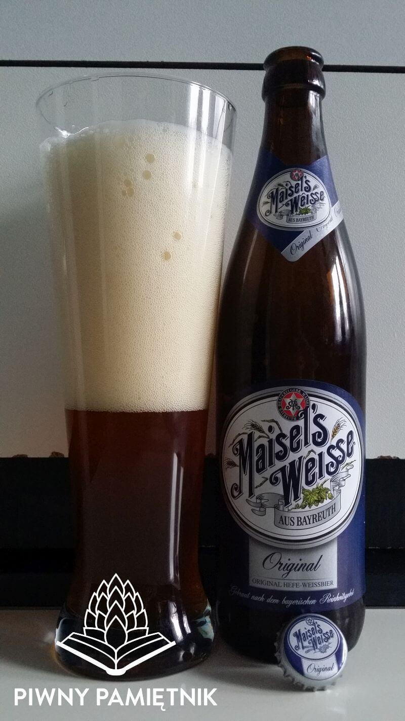 Maisel's Weisse Original z Browaru  Brauerei Gebr. Maisel Bayreuth