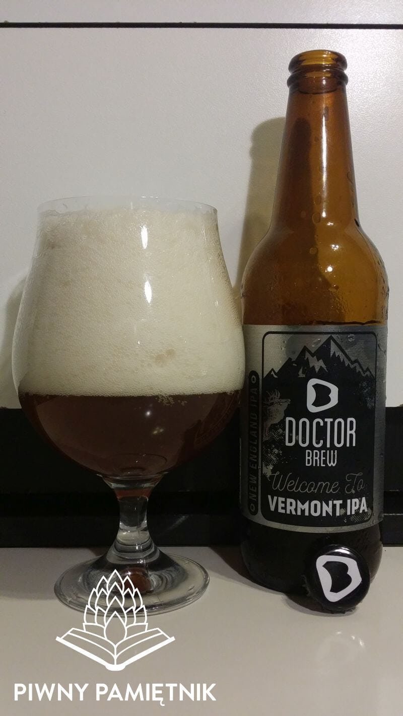 Welcome To Vermont IPA z Browaru Doctor Brew