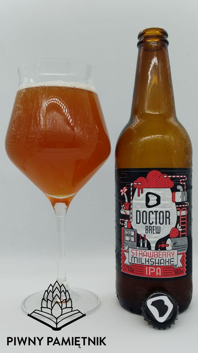 Strawberry Milkshake IPA z Browaru Doctor Brew