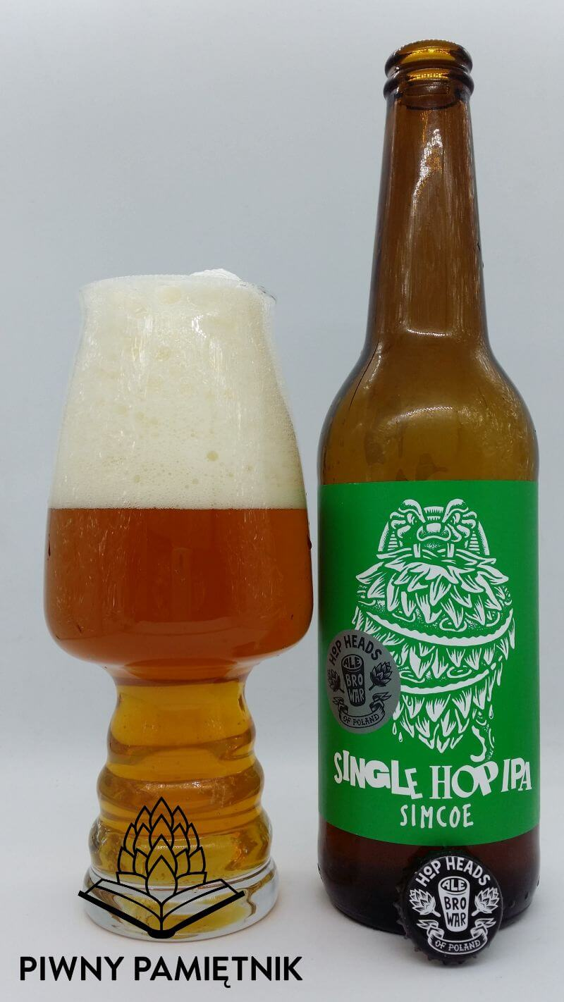 Single Hop IPA Simcoe z Browaru AleBrowar