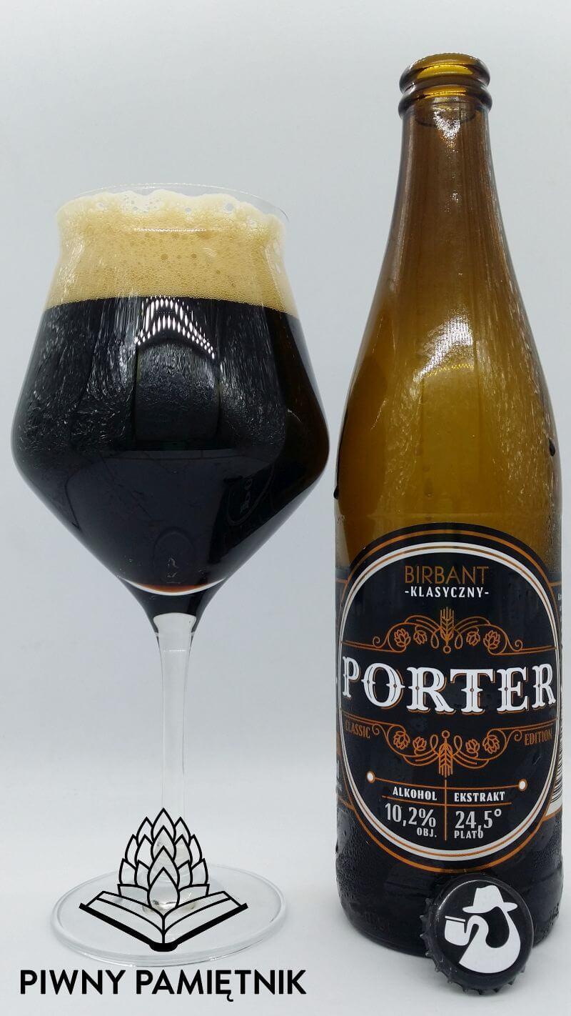 Klasyczny Porter z Browaru Brirbant