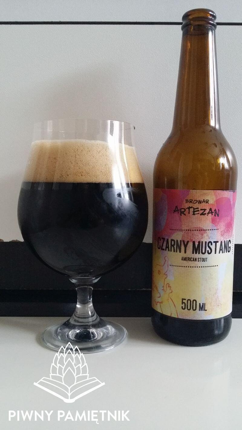 Czarny Mustang z Browaru Artezan