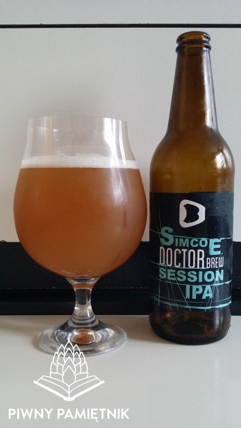 Simcoe Session IPA z Browaru Doctor Brew