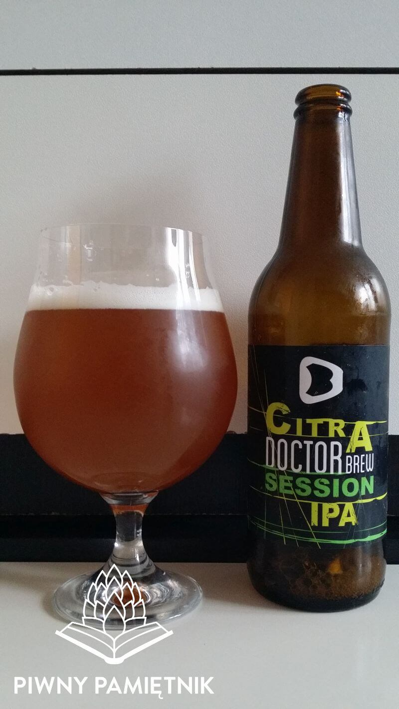Citra Session IPA z Browaru Doctor Brew