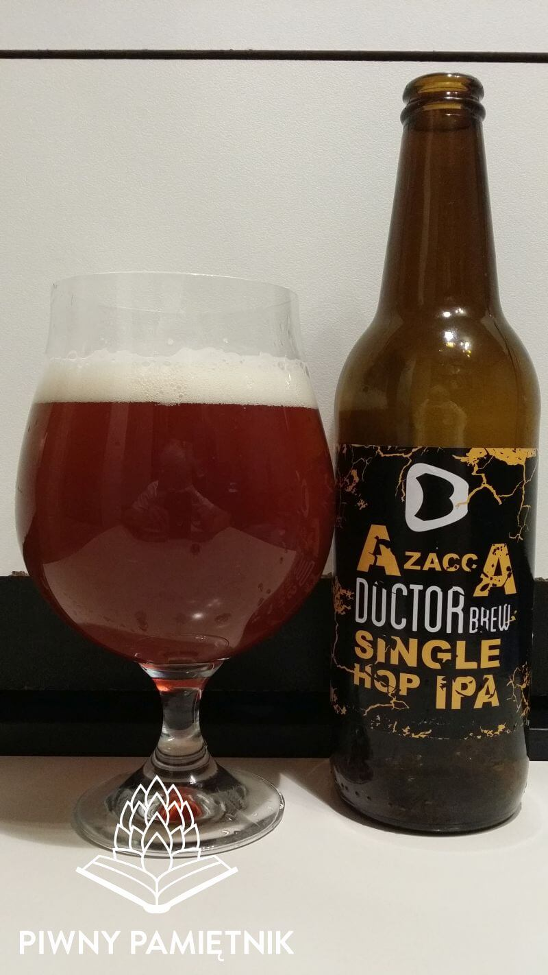 Azacca Single Hop IPA  z Browaru Doctor Brew