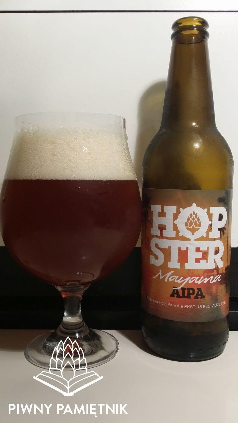 Mayama AIPA z Browaru Hopster Beer