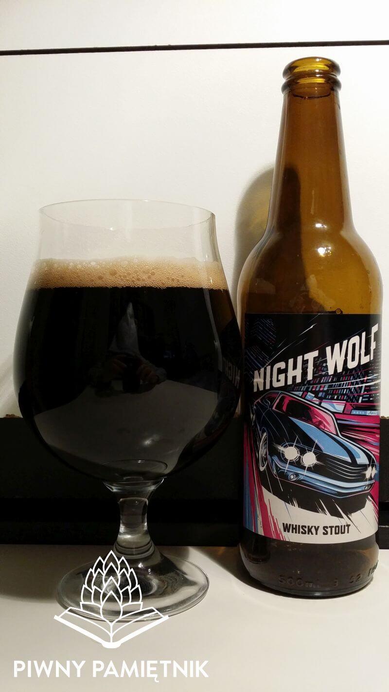 Night Wolf z Browaru Szpunt