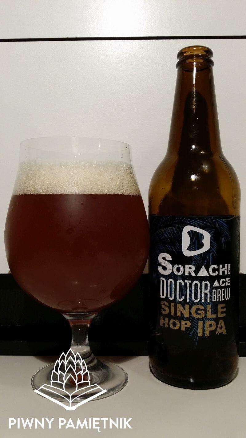 Sorachi Ace Single Hop IPA z Browaru Doctor Brew