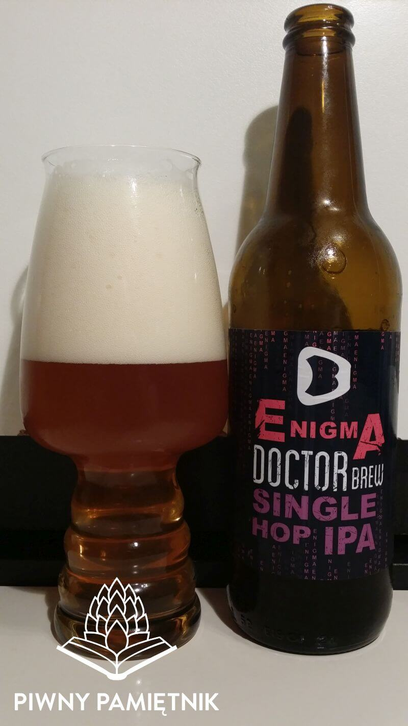 Enigma Single Hop IPA z Browaru Doctor Brew