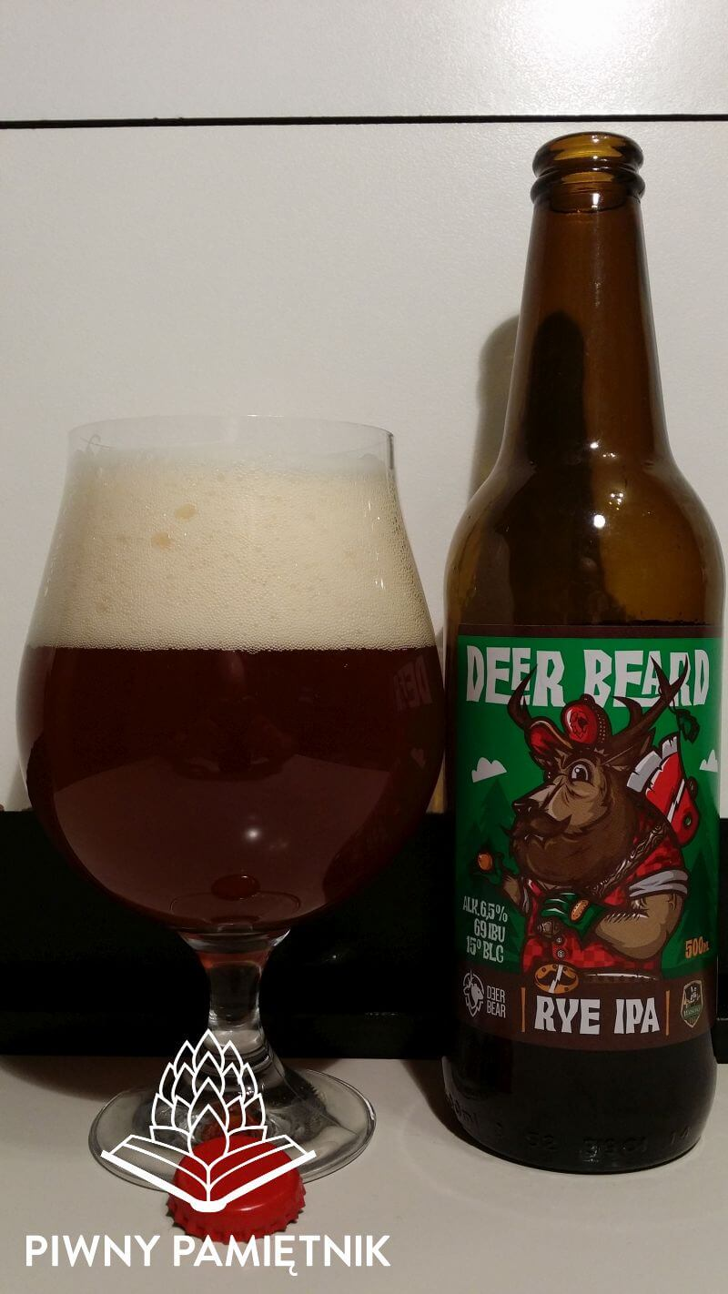 Deer Beard z kolaboracji Browaru Deer Bear i Browaru Wąsosz