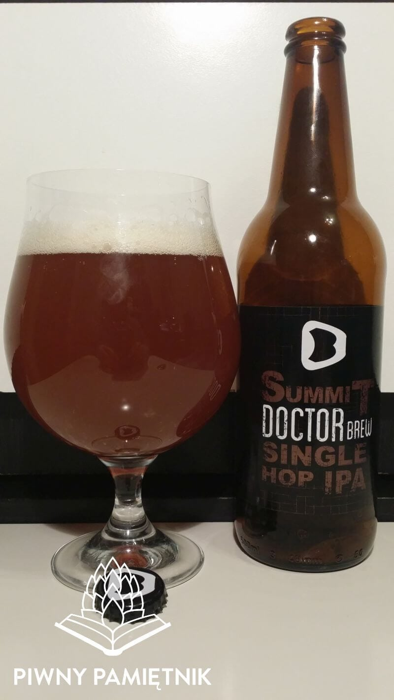 Summit Single Hop IPA z Browaru Doctor Brew