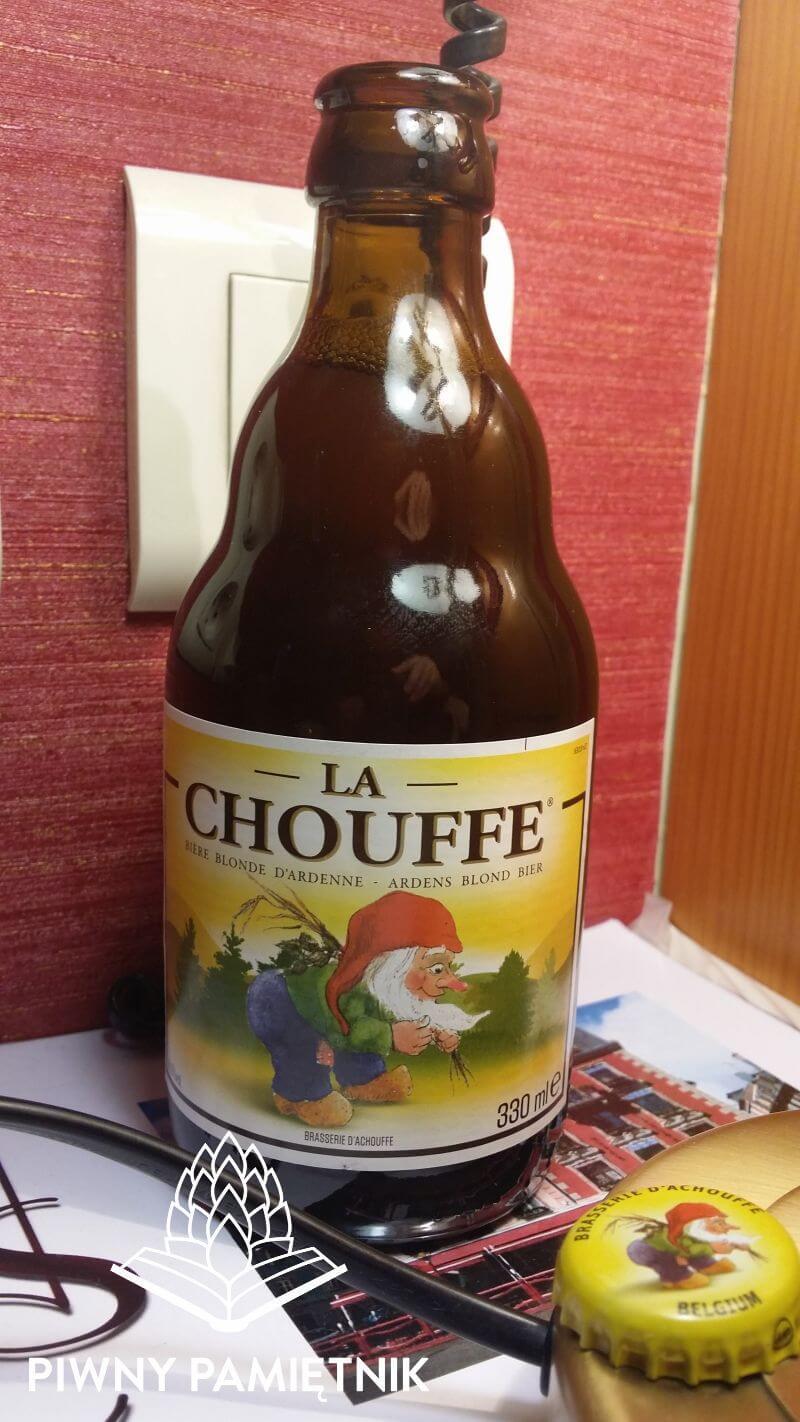 La Chouffe z Brasserie d'Achouffe (Achouffe- Belgia)