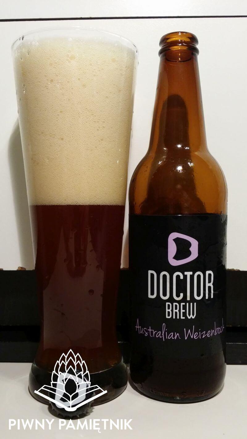 Australian Weizenbock z Browaru Doctor Brew