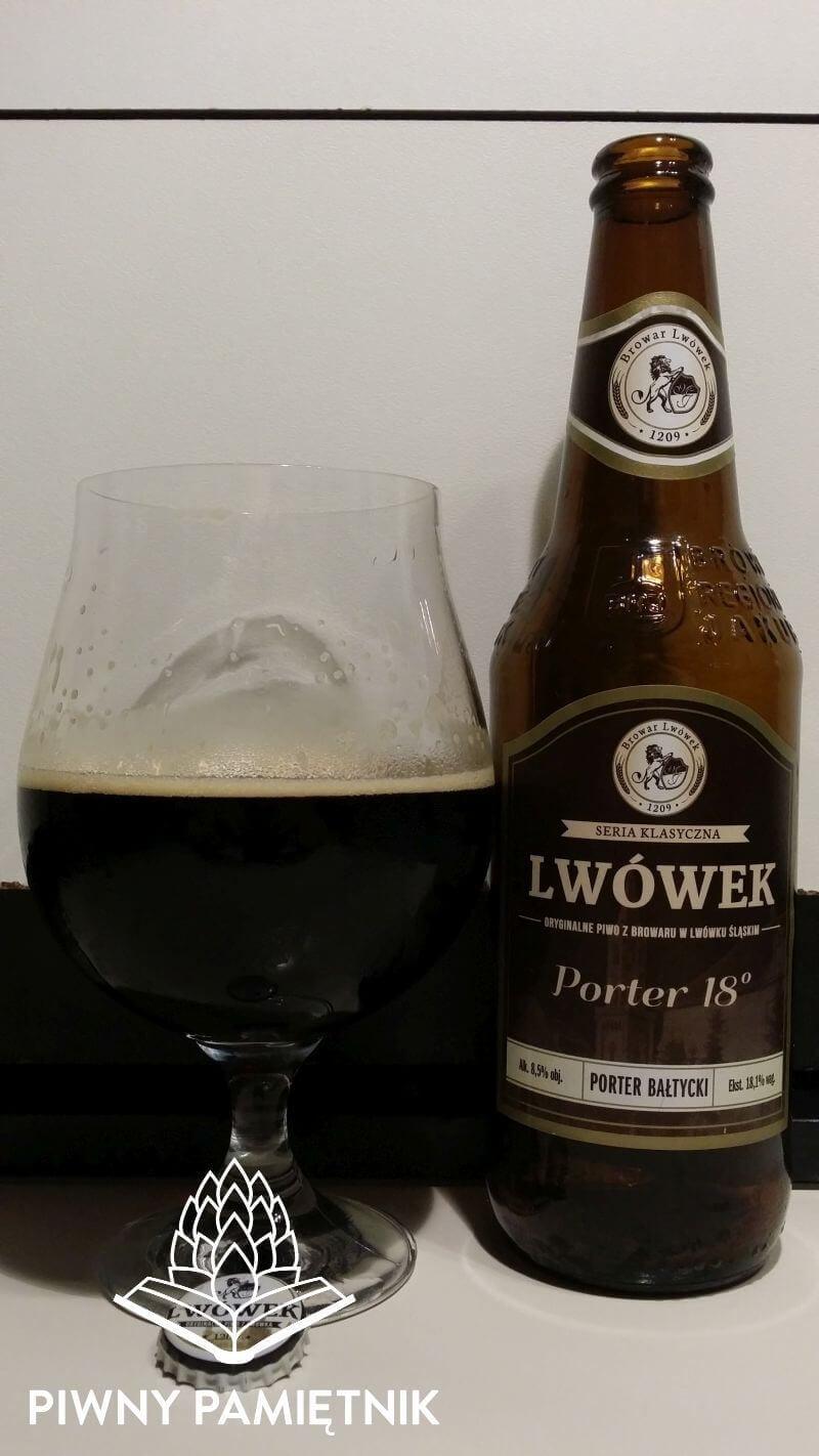 Lwówek Porter 18° z Browaru Lwówek z Browarów Regionalnych Jakubiak