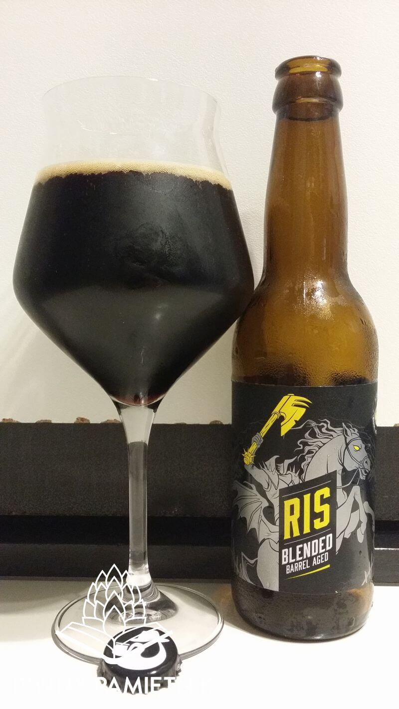 RIS Blended Barrel Aged z Browaru Birbant