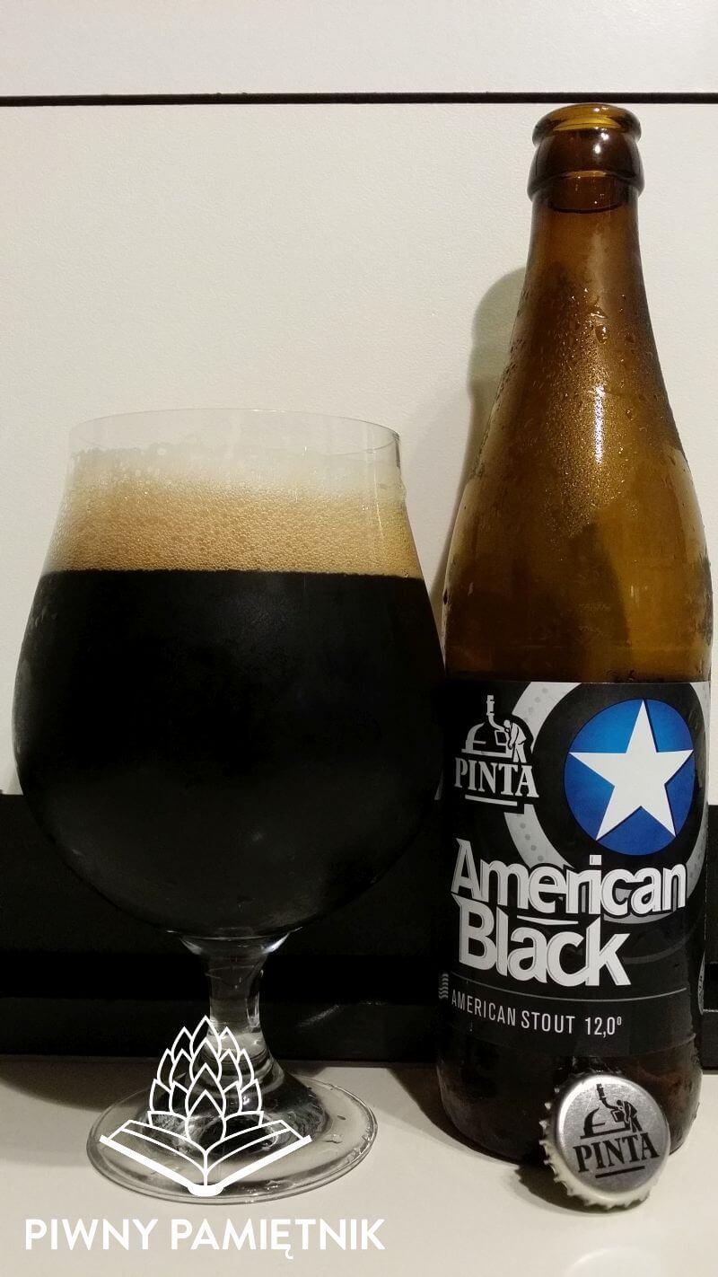 American Black z Browaru Pinta