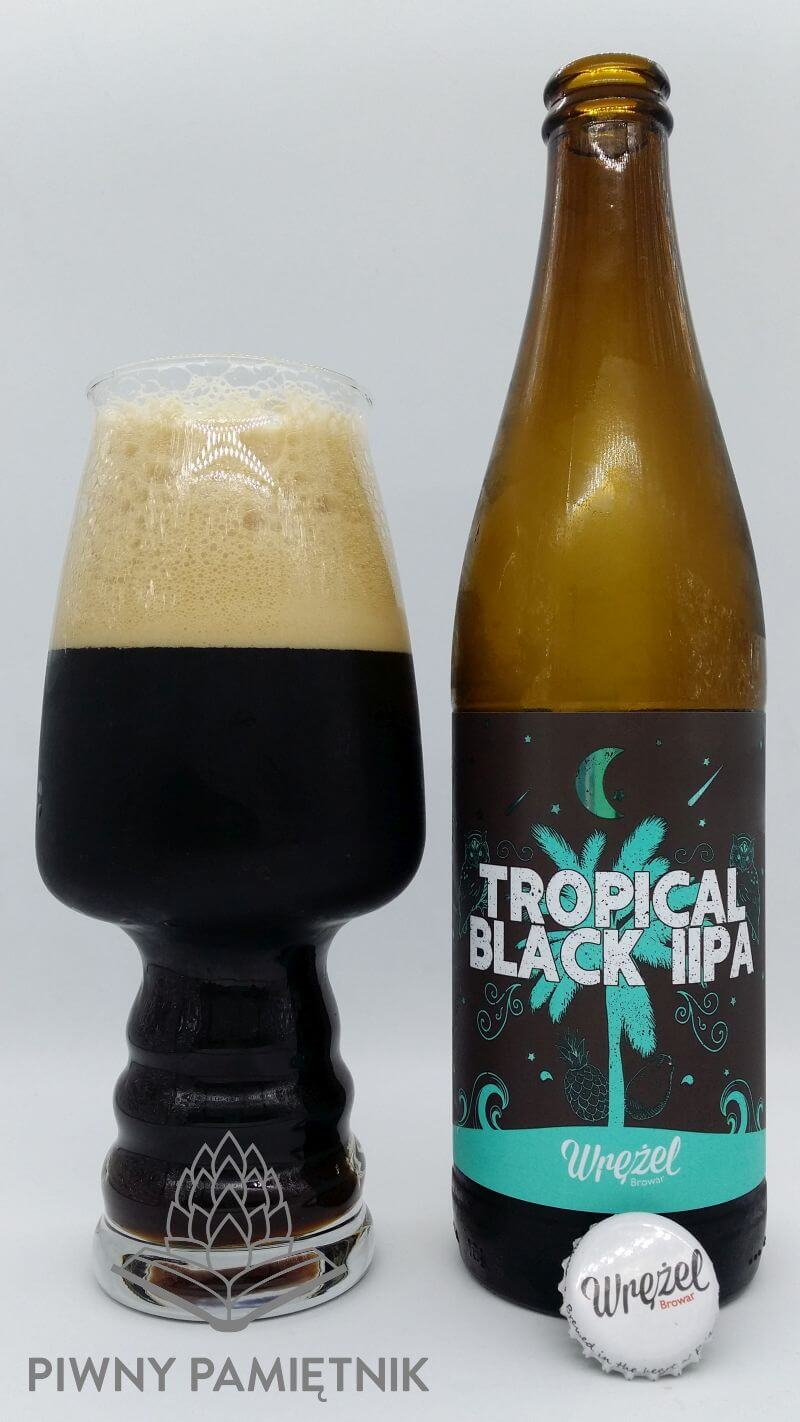Tropical Black IIPA z Browaru Wrężel