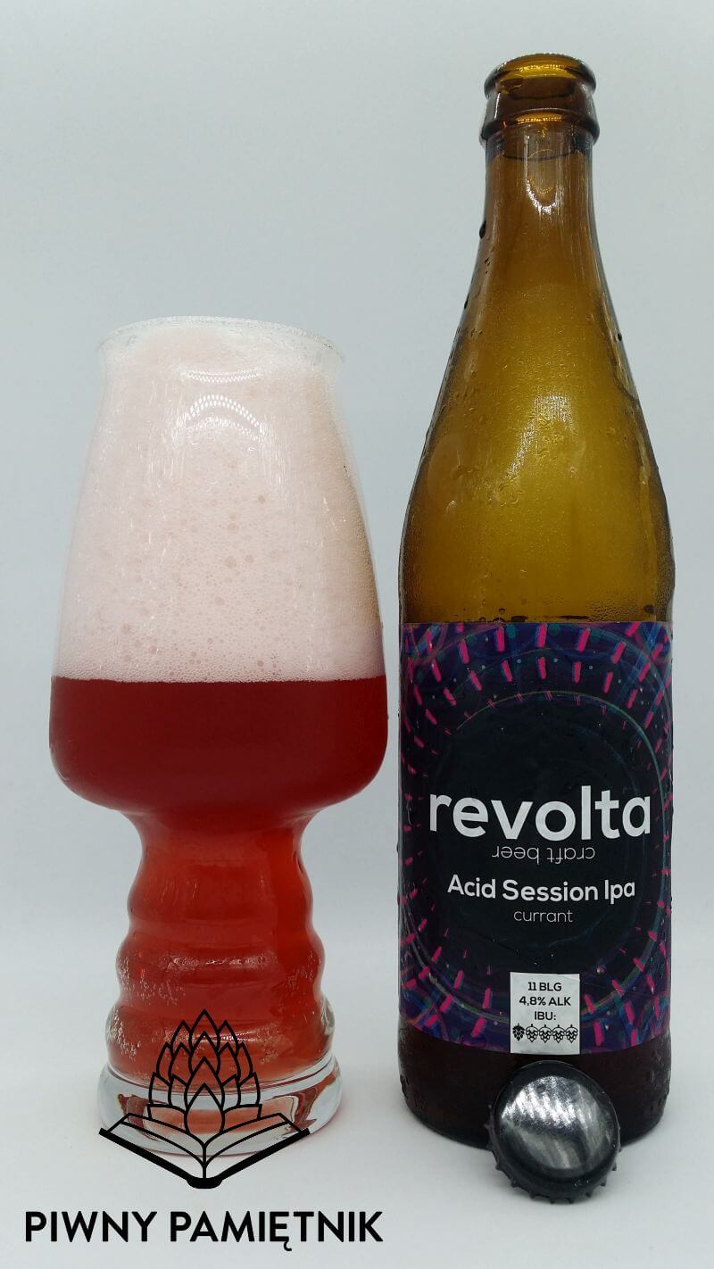 Acid Session IPA (currant) z Browaru Revolta