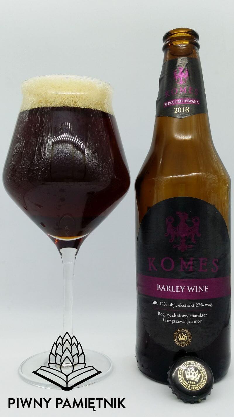 Komes Barley Wine z Browaru Fortuna (Seria Limitowana 2018)