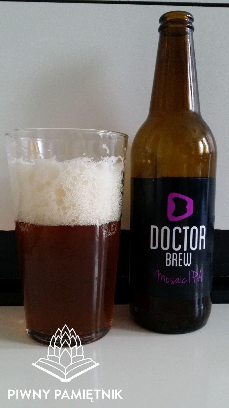 Mosaic IPA z Browaru Doctor Brew