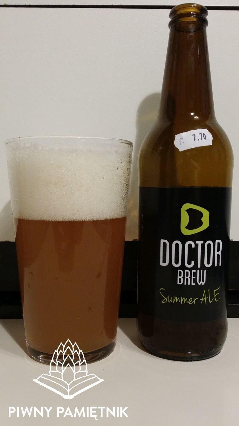 Summer ALE z Browaru Doctor Brew