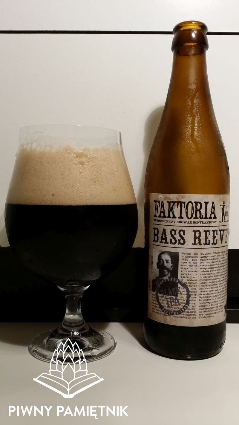 Bass Reeves z Browaru Faktoria