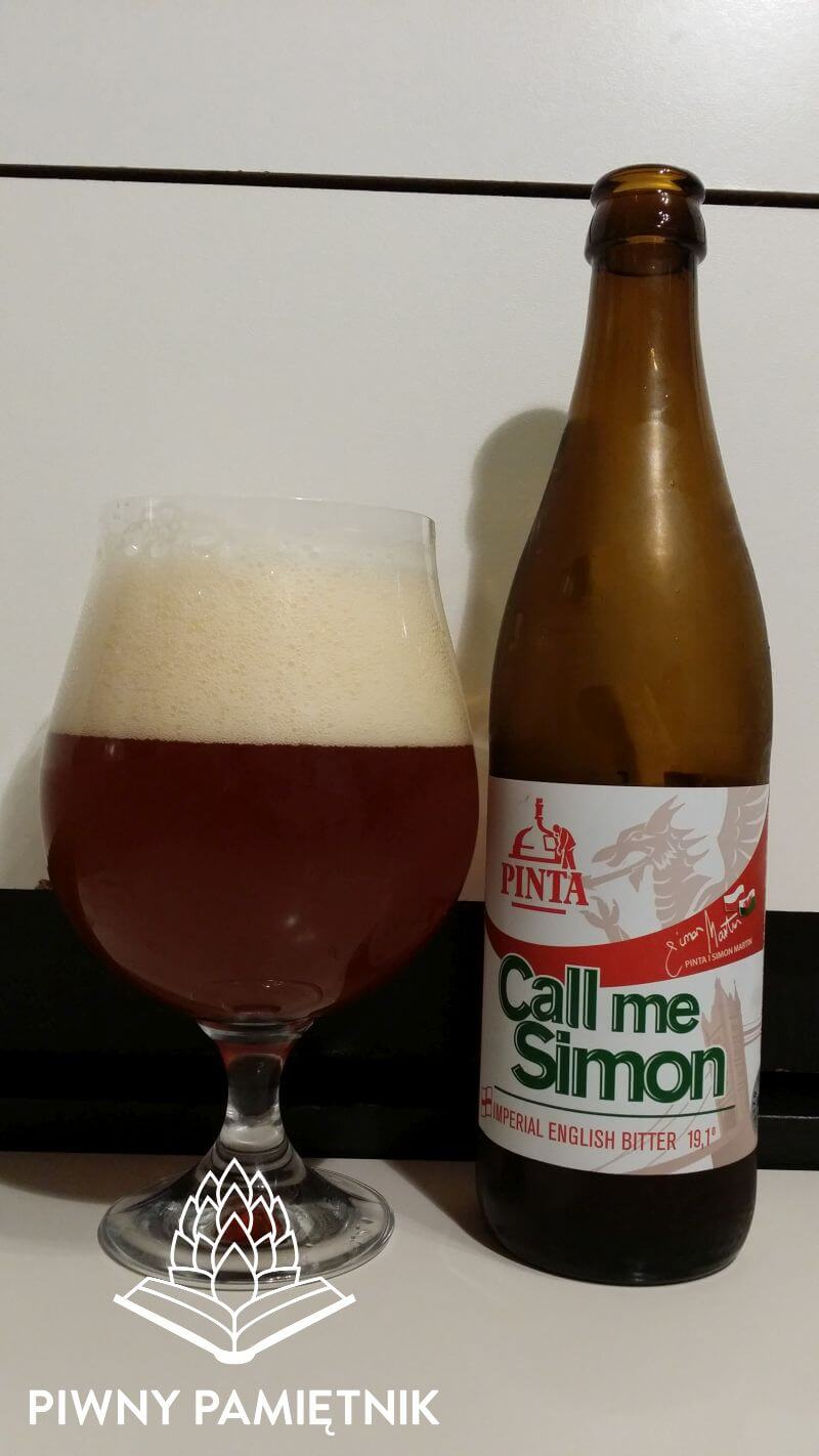 Call Me Simon 2015 z Browaru Pinta