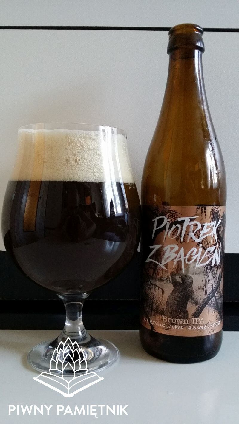 Piotrek Z Bagien Brown IPA  z Browaru Jan Olbracht