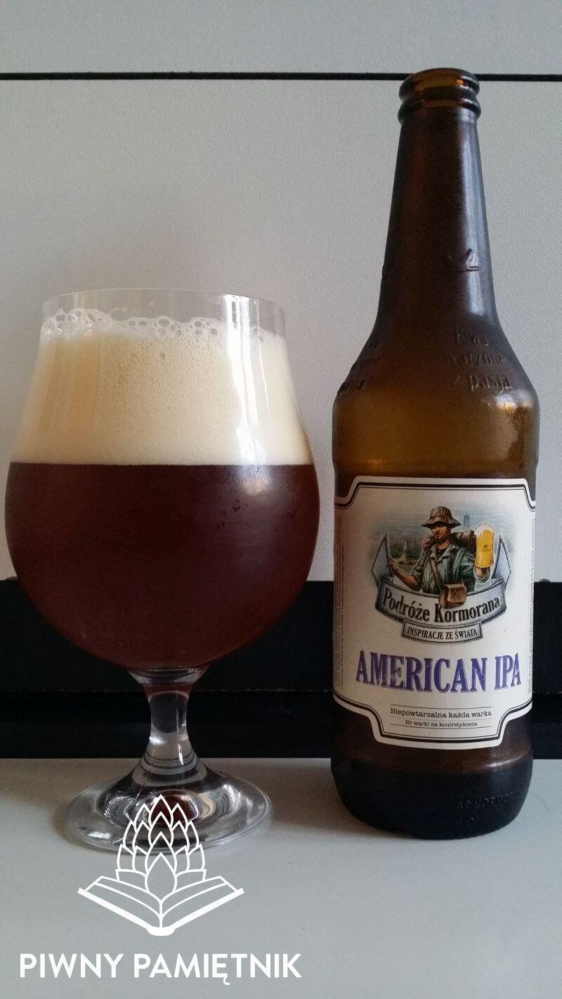 American IPA z Browaru Kormoran