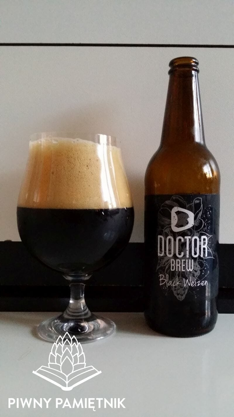 Black Weizen z Browaru Doctor Brew