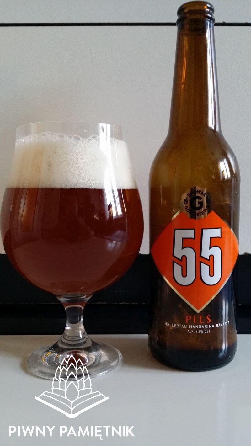 Pils 55 Hallertau Mandarina Bavaria z Browaru Gościszewo