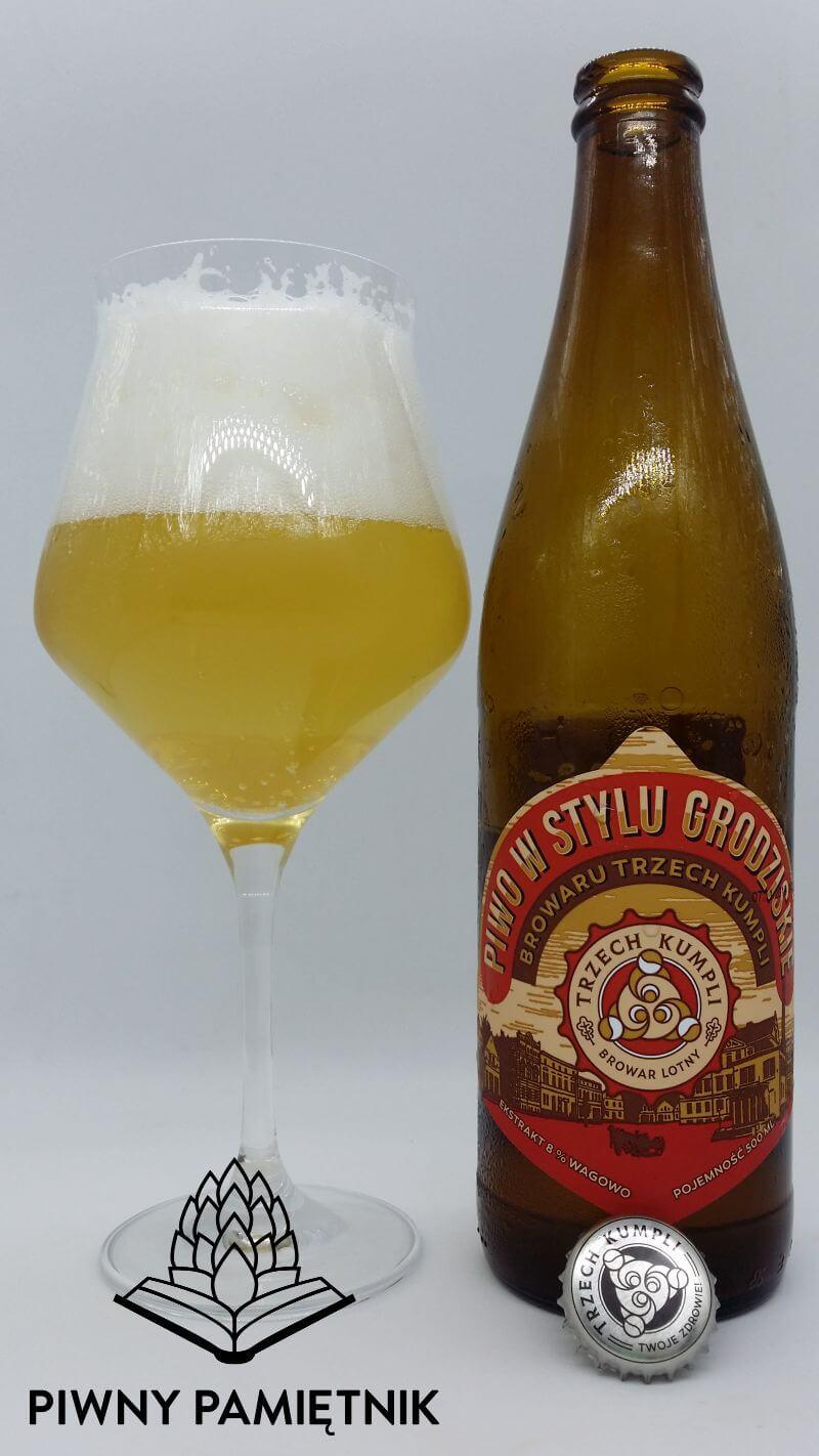 Piwo w stylu Grodziskie z Browaru Trzech Kumpli