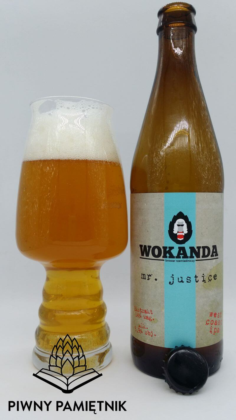 Mr. Justice z Browaru Wokanda
