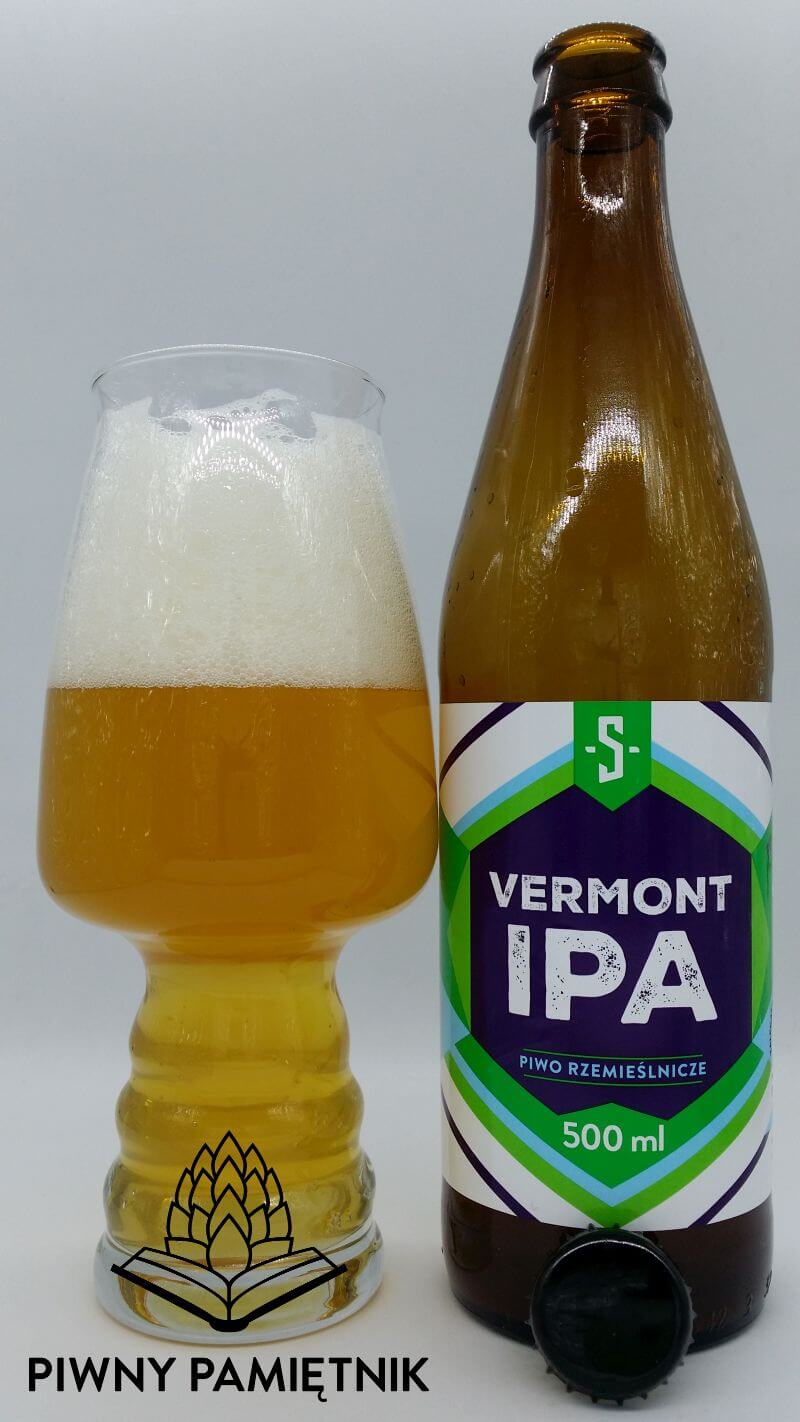 Vermont IPA z Browaru Szpunt