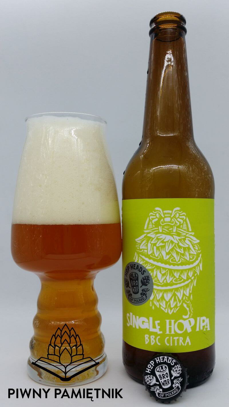 Single Hop IPA BBC Citra z Browaru AleBrowar