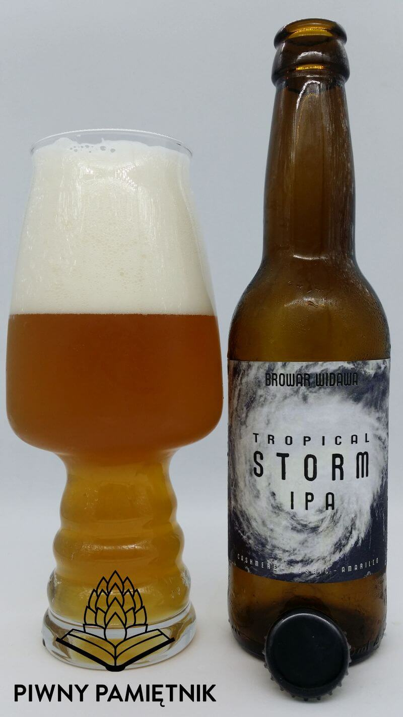 Tropical Storm IPA z Browaru Widawa