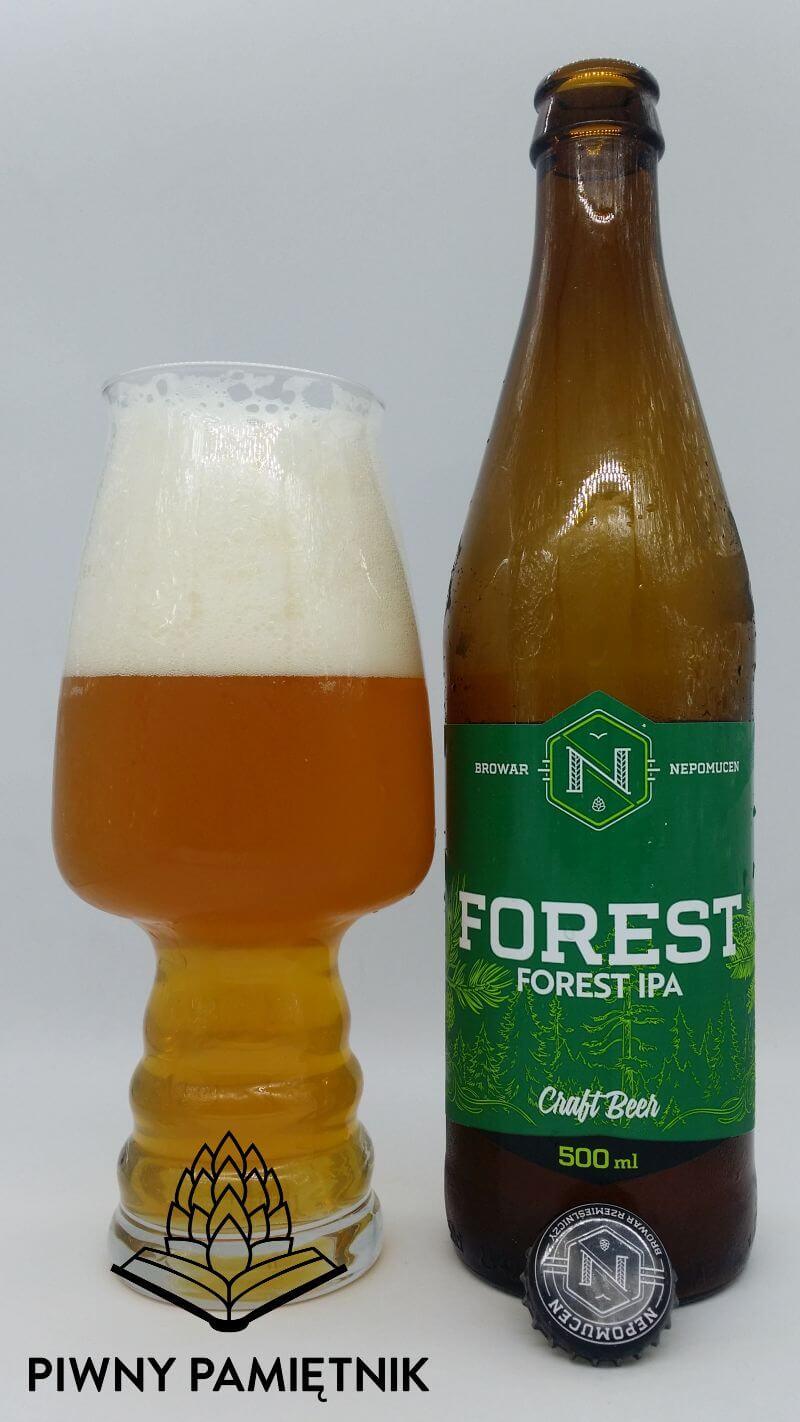 Forest IPA z Browaru Nepomucen