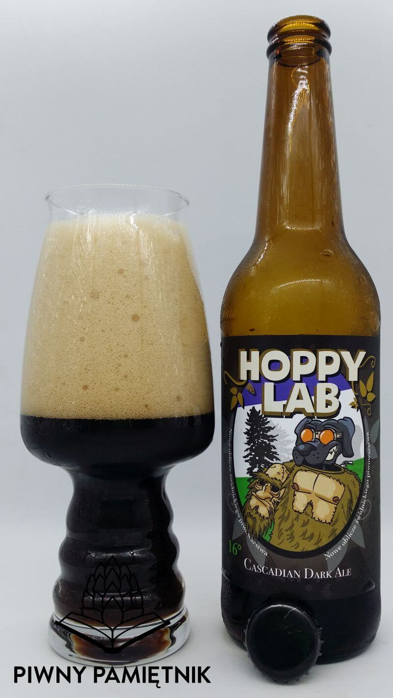 Cascadian Dark Ale z Browaru Hoppy Lab